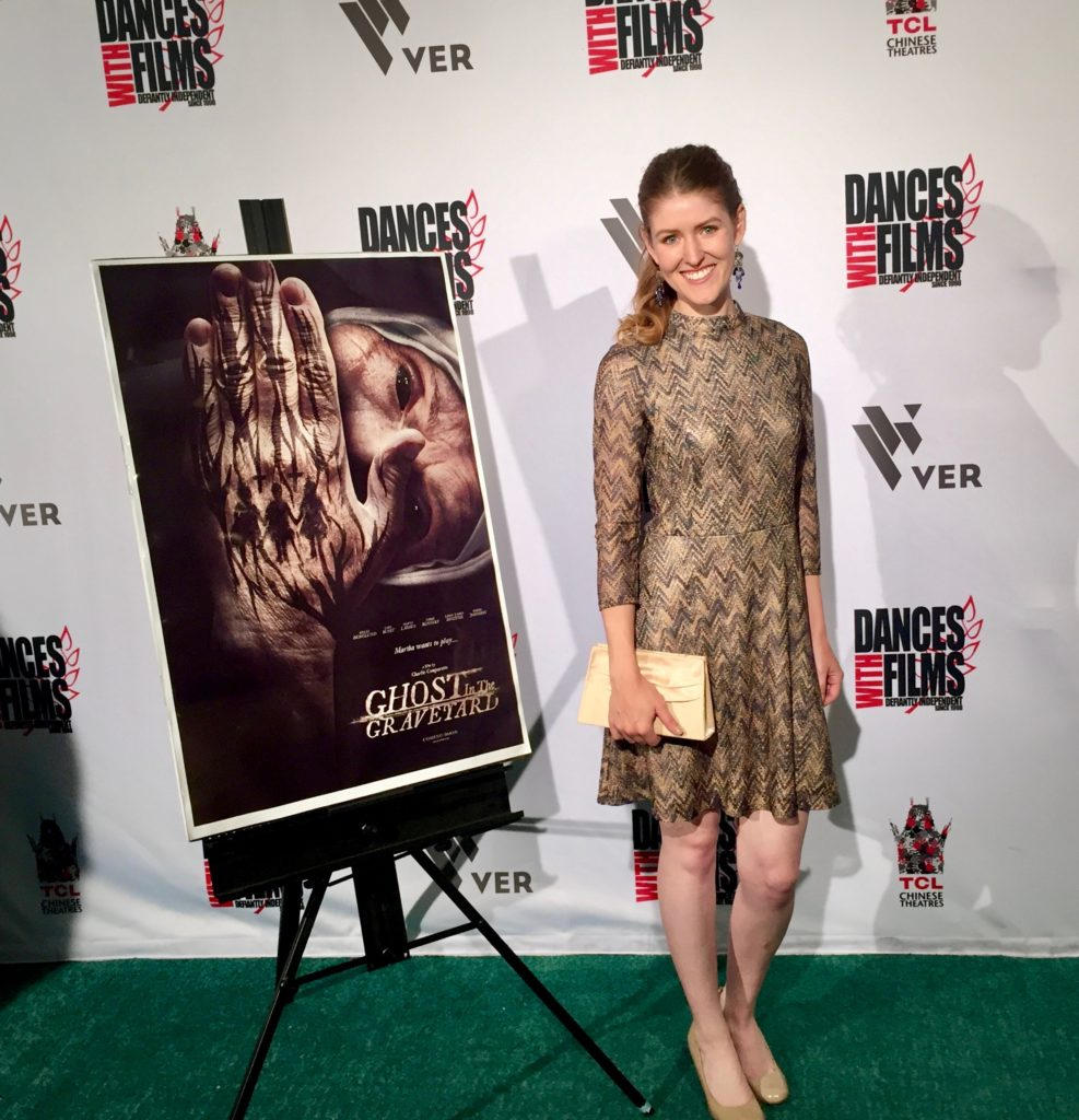 At the premiere for Ghost in the Graveyard
